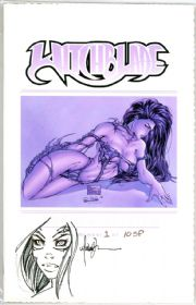 Witchblade #11 Museum Edition Sketch Premium Signed Michael Turner COA #1 Jay Company